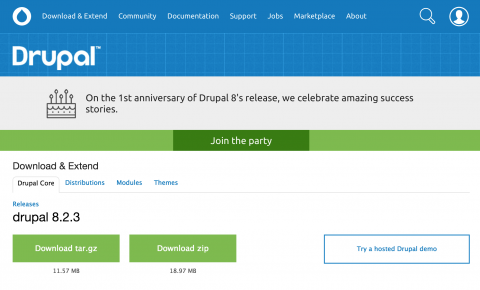On the 1st anniversary of Drupal 8's release, we celebrate amazing success stories.